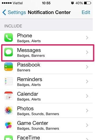 Hướng dẫn cách ẩn nội dung tin nhắn ngoài màn hình iPhone