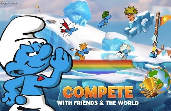 Chuyên mục giới thiệu game hay cho iOS: Smurfs Epic Run – Thế giới xì trum, ấm lại ký ức tuổi thơ.