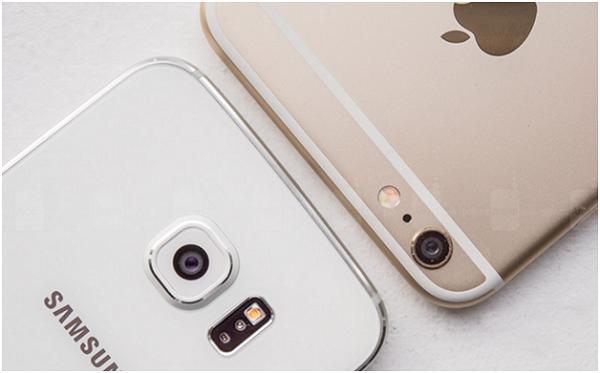 Apple với Samsung