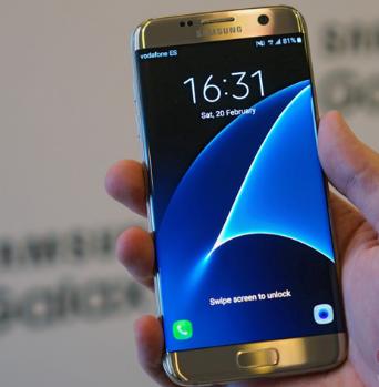 Samsung Galaxy S7 Edge sang trọng với màn hình cong