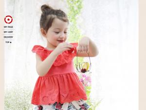 Các mẫu váy lửng mặc nhà mềm mát ngày hè cho bé gái mọi độ tuổi