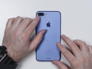 Hình ảnh iPhone 7 Plus màu xanh mới khác biệt