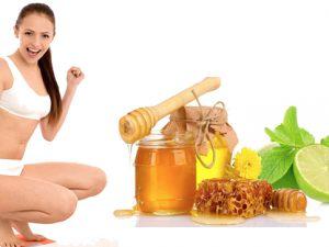 Giảm cân và làm đẹp với mật ong