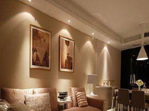Tiêu chí chọn đèn led soi tranh cho phòng khách ấn tượng