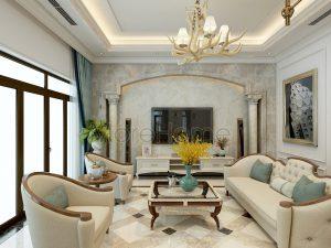 Ứng dụng đá trang trí trong thiết kế nhà