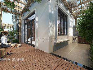 Thiết kế nội thất biệt thự nhà vườn tinh tế