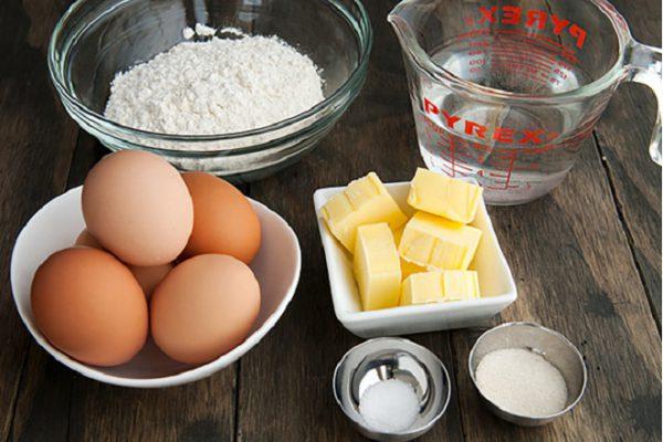 nguyên liệu làm bánh gato